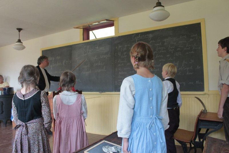 6-Portraying the 1830's at Chesley