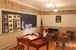2-Recreated front classroom at Lyme Center